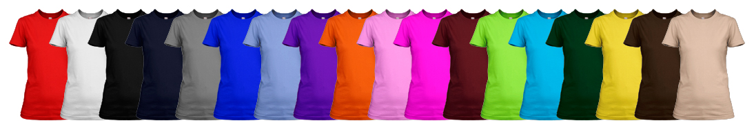 hen t-shirt colours