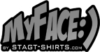 Myface stag t-shirts